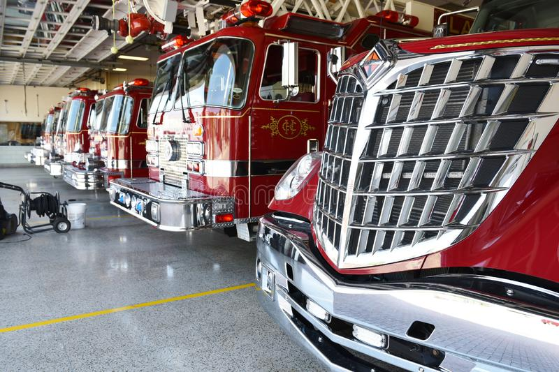 Smyrna delaware state usa firefighters station royalty free stock photo