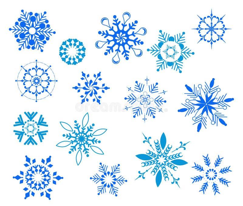 Snö  stock illustrationer