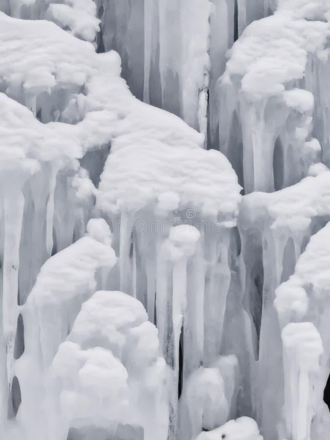 Snö och berg arkivfoto
