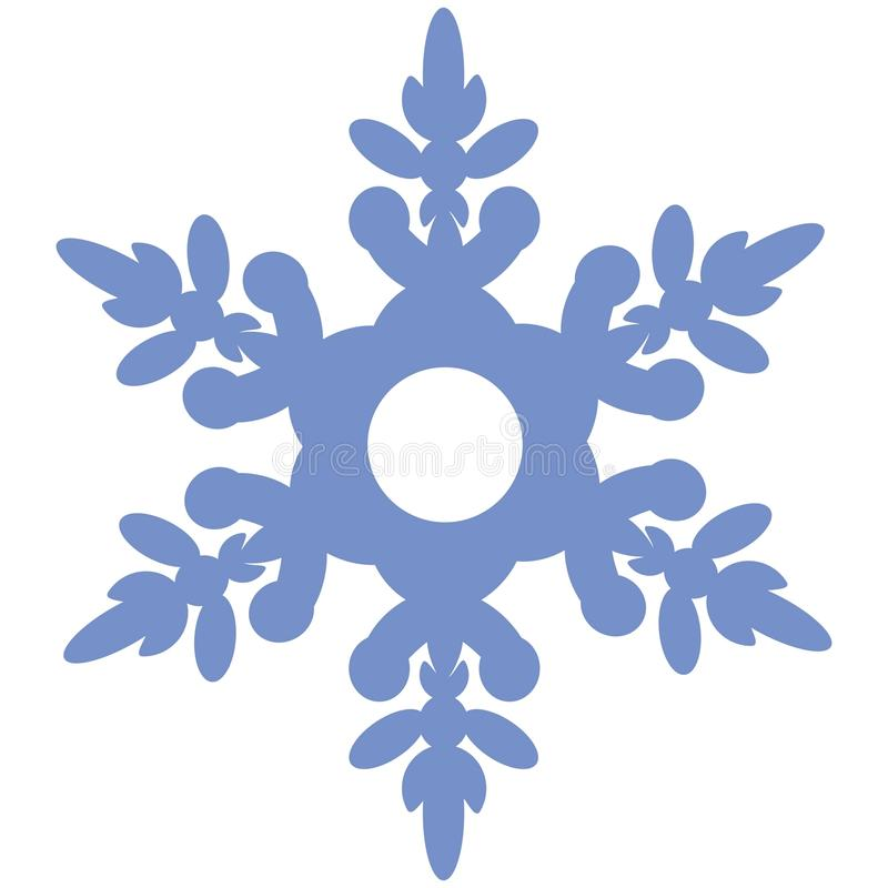 snöflinga 02 vektor illustrationer