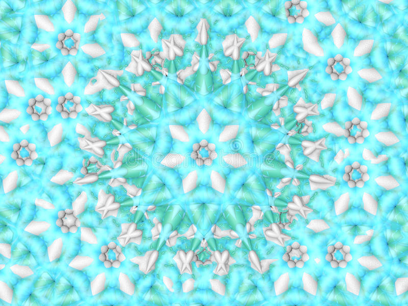 Snöflingagodisbakgrund royaltyfri bild