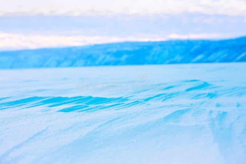 snöig vinter för bakgrund royaltyfria bilder