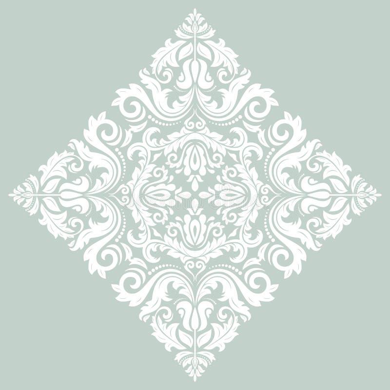 Snör åt den dekorativa rundan för den Orient vektorn vektor illustrationer