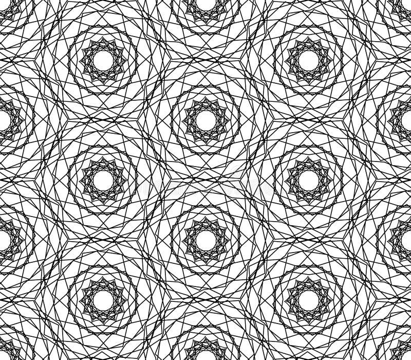 Snöra åt den repeatable vektorillustrationen för rengöringsduken royaltyfri illustrationer