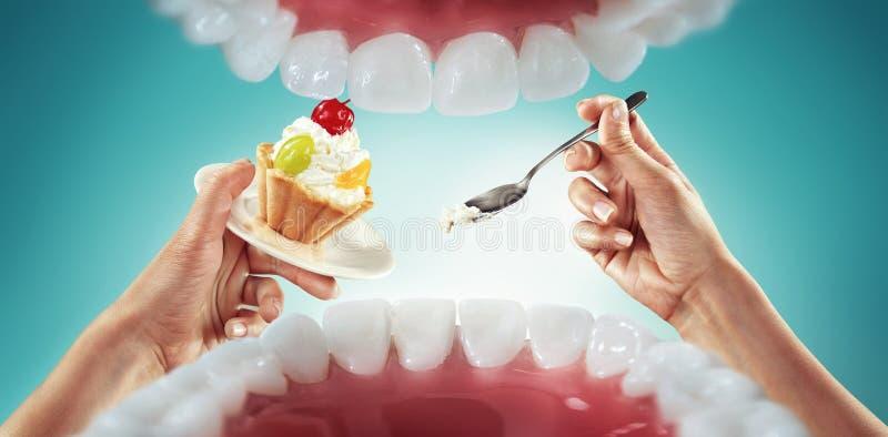 Snabbmat och sötsaker arkivfoton