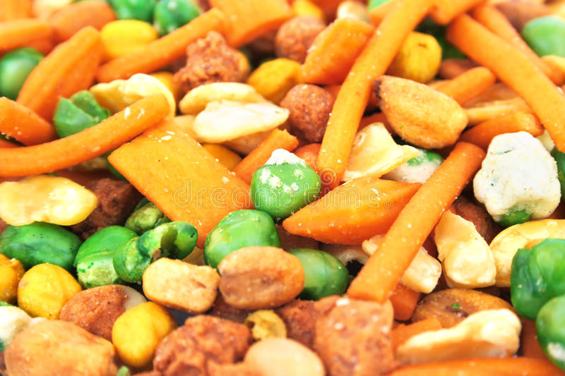 Download Snack stock image. Image of background, peas, brown, different - 17936297
