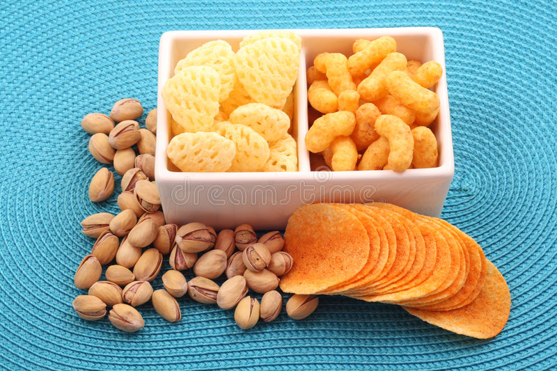 Snack for party royalty free stock photo