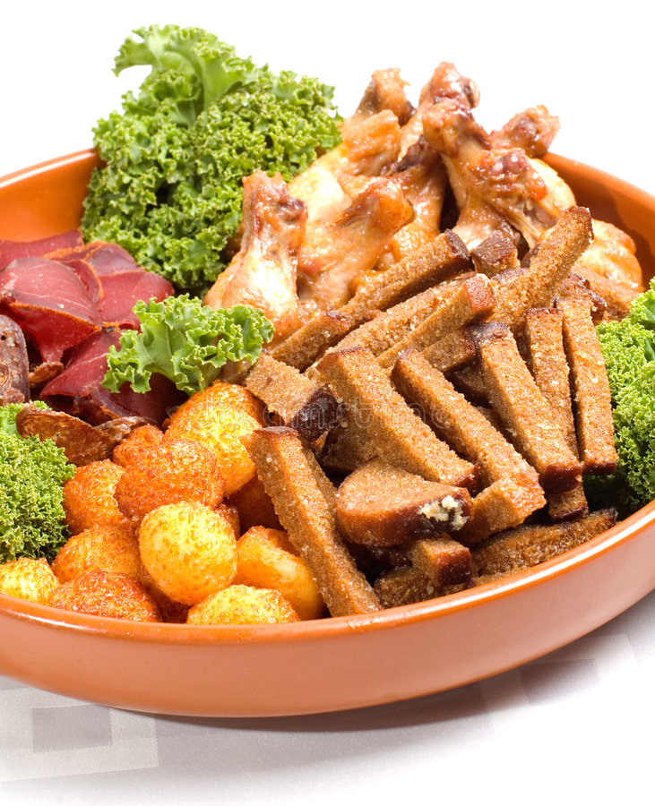 Download Snack Plate for Two stock image. Image of snack, sudzuk - 2440799