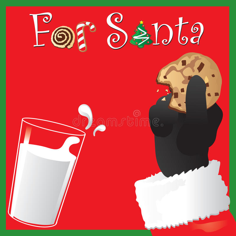 Download Snack for Santa stock vector. Illustration of treat, type - 11918891