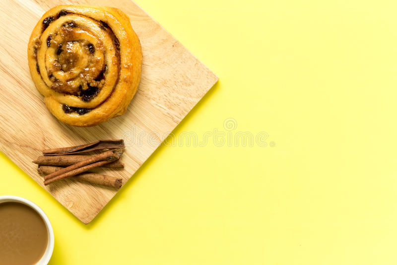 Snack voor Koffie/Snack voor Koffieachtergrond royalty-vrije stock foto