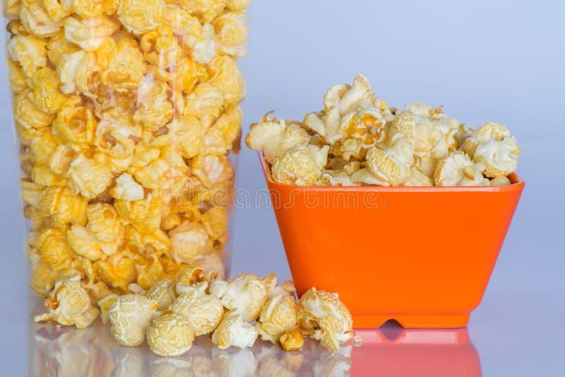 Snackpopcorn stock afbeelding