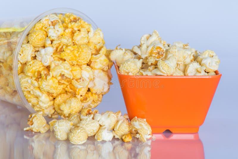 Snackpopcorn stock fotografie