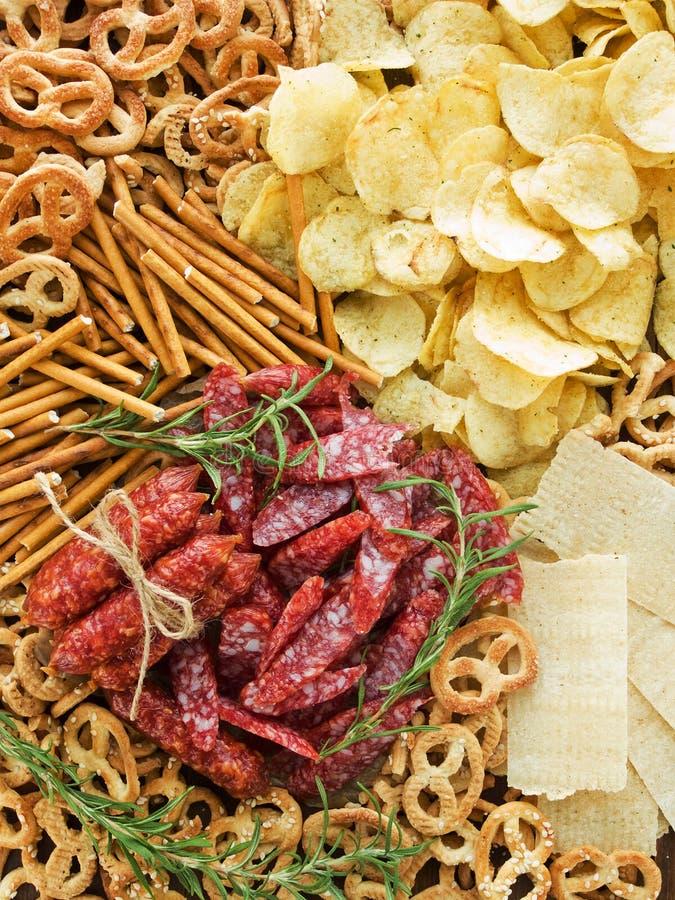 Free Snacks Royalty Free Stock Photos - 21231258