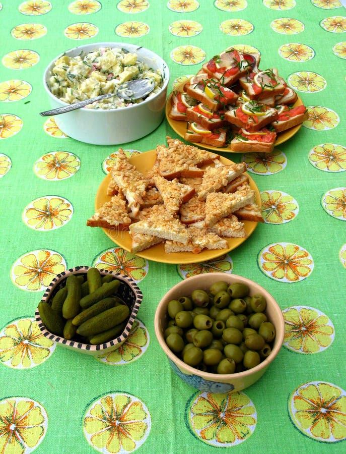 Download Snacks stock image. Image of bowl, orange, salad, cucumber - 27745893