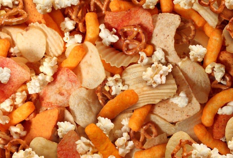 snacks imagem de stock