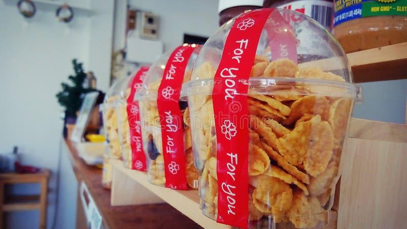 snacks stock afbeelding
