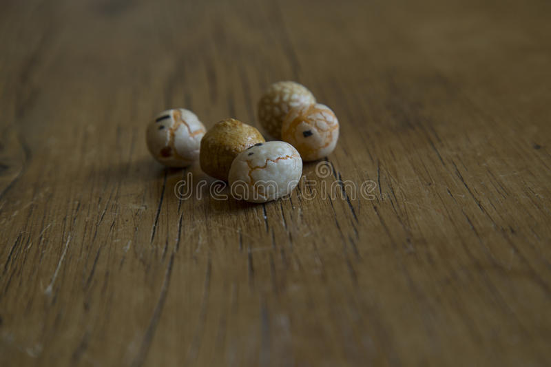 Snacks covered with food royalty free stock photo
