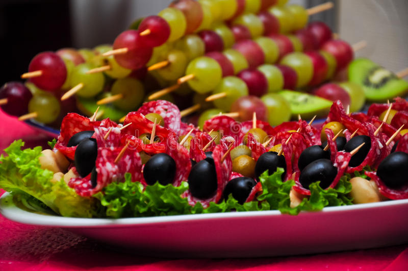 Snacks for healthy eating royalty free stock photo