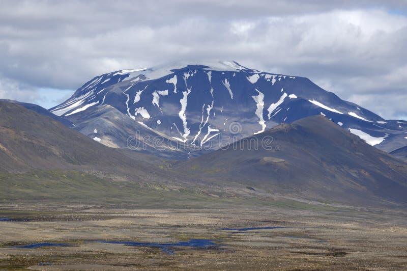 Snaefell wulkan, Iceland fotografia royalty free
