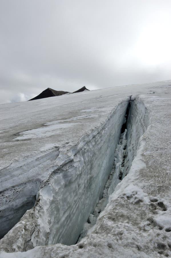 Snaefellsjokull glacier, Iceland. stock images