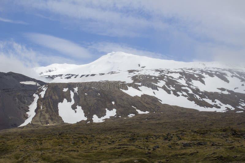Snaefellsjokull-Gletscher stockfotografie