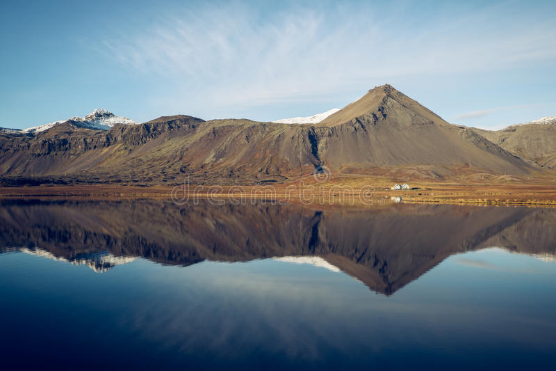 Snaefellsnes, Islândia fotos de stock royalty free