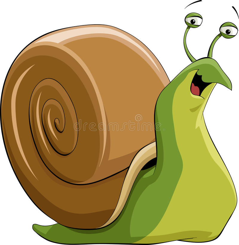 Download Snail stock vector. Illustration of creep, snail, painting - 15874923