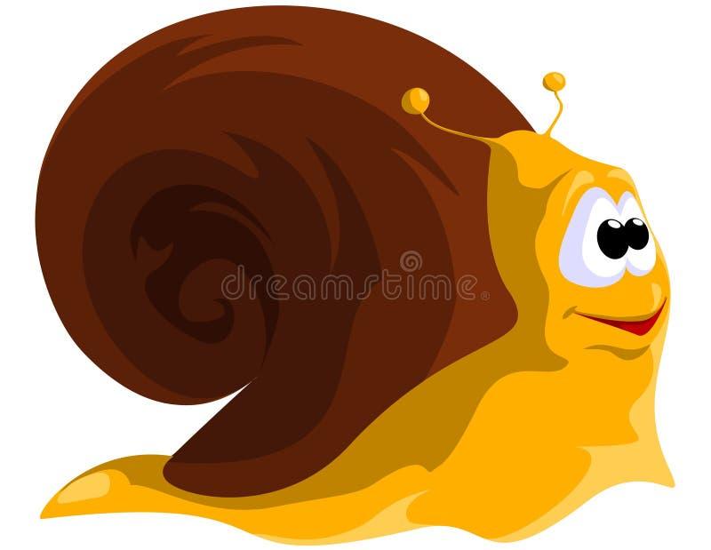 snail stock illustrationer