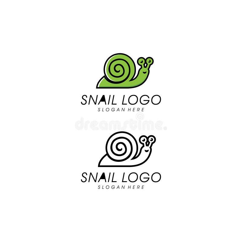 Snail animal logo vector design template. Concept design template vector illustration