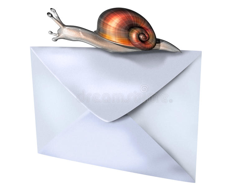 Download Snail Mail Royalty Free Stock Photo - Image: 19234555