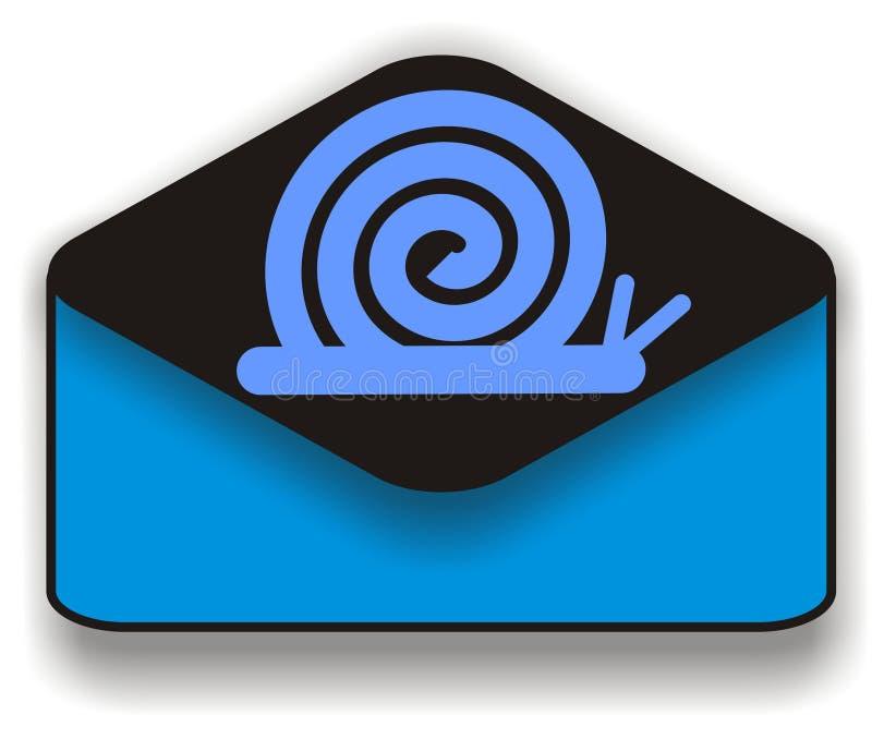 Snail mail illustration libre de droits