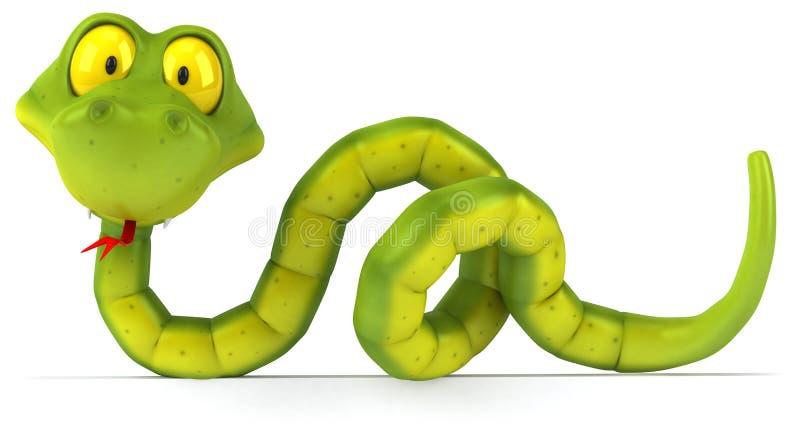 Download Snake stock illustration. Illustration of toxin, predator - 14861586