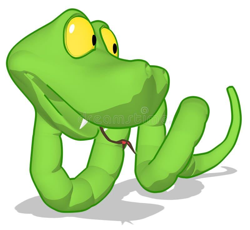 Download Snake stock illustration. Image of illustration, toxic - 24489474