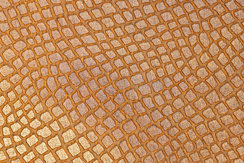 Download Snake brown leather stock image. Image of flat, simple - 13672813