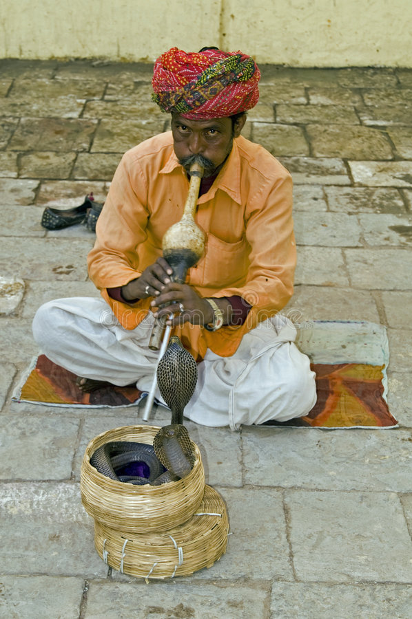 Free Snake Charmer Royalty Free Stock Photo - 5378395