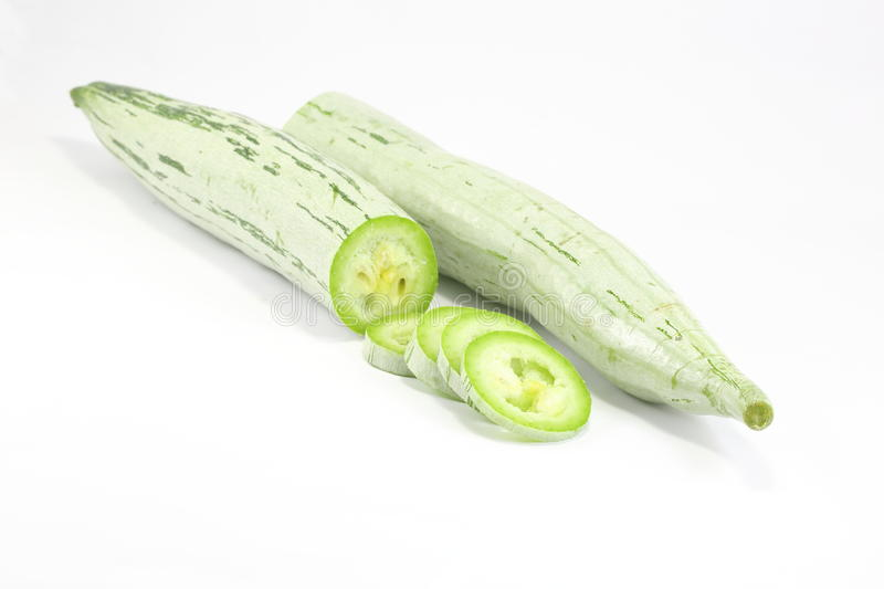 Snake Gourd royalty free stock images