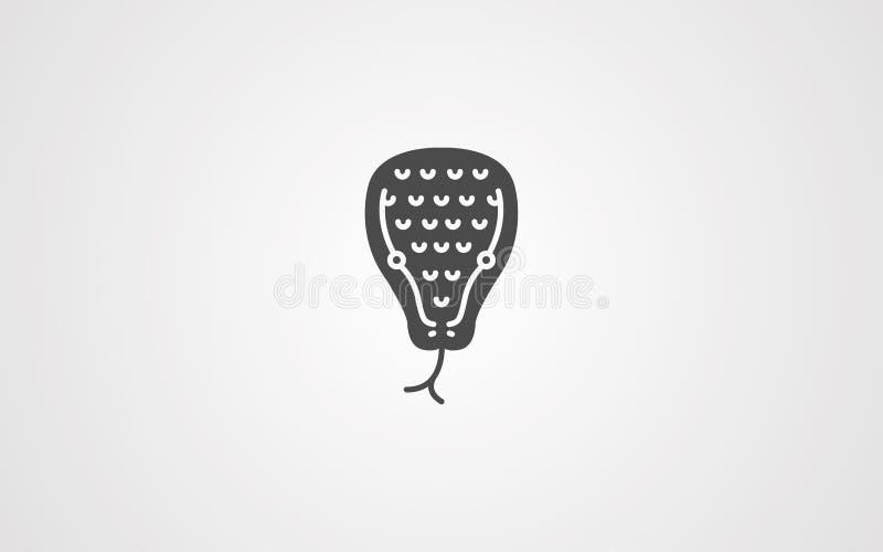 Snake head vector icon sign symbol vector illustration