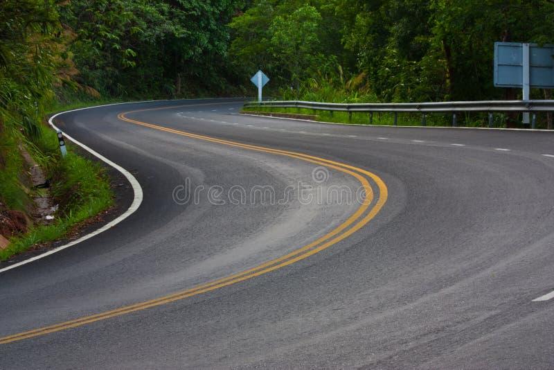 Download Snake Mountain Road stock image. Image of land, line - 15091791