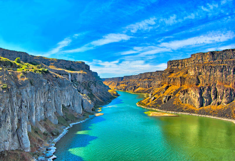 Snake River. The Snake is a major river in the greater Pacific Northwest region of the United States. It is the largest and longest tributary of the Columbia