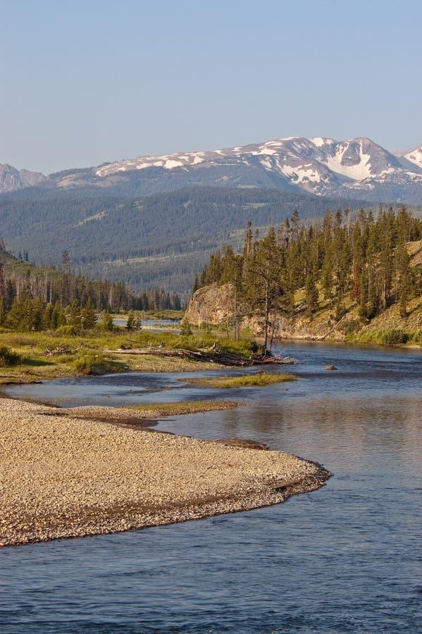 Download Snake River In John D Rockefeller Memorial Parkway Stock Image - Image of river, wyoming: 15025041