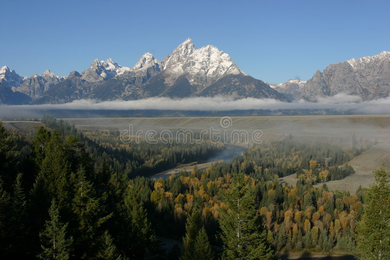 Snake River Overlook royalty free stock images