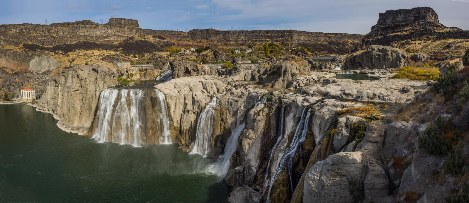 Shoshone Falls in Idaho royalty free stock photography
