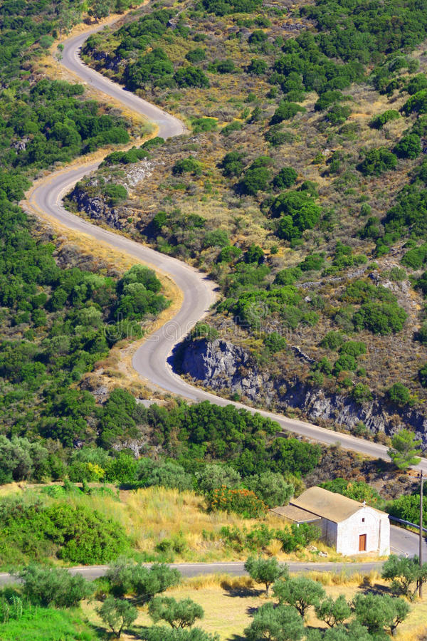 Download Snake Road, Kythera, Greece Stock Photo - Image: 16155760