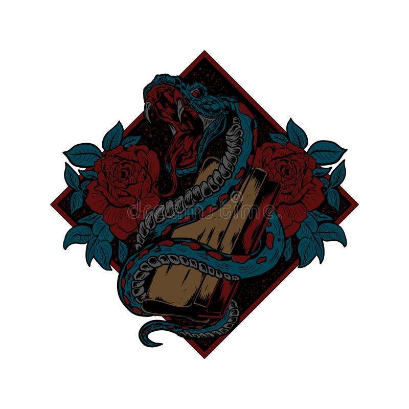 Free Snake Screenprinting Vector Illustration Editable Royalty Free Stock Photo - 175094625