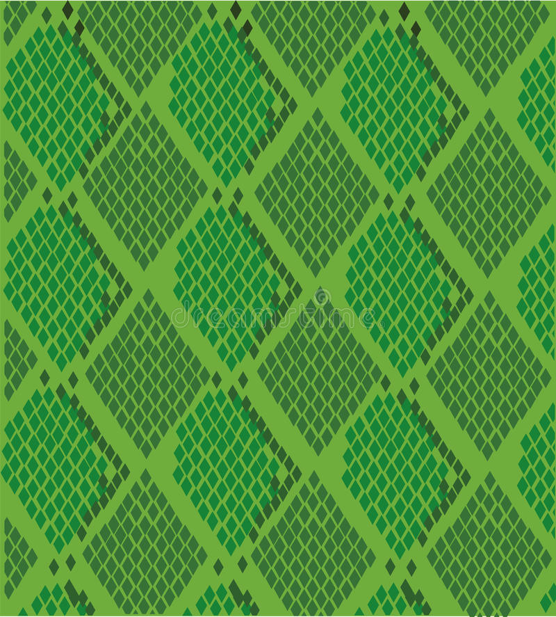 Sponge The Tail For Texture: Snake Skin Scales Seamless Texture Stock Illustration