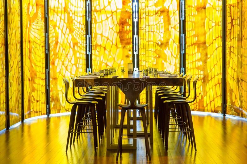 Snake Skin Restaurant royalty free stock images
