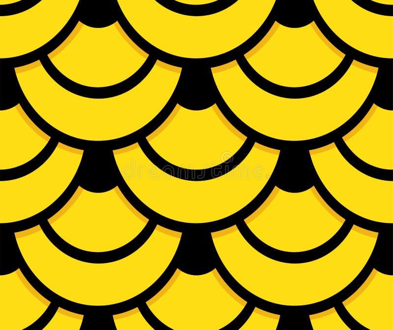 Snake skin seamless pattern background stock illustration