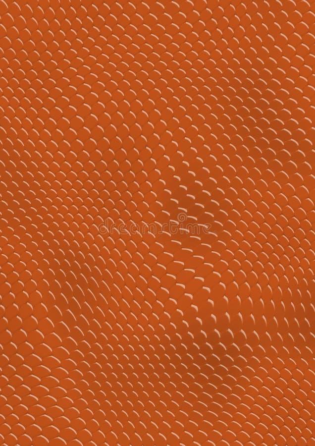 Snakes_texture_red lizenzfreie abbildung