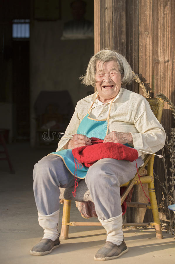 Download Snap Portrait Of A Laughing Senior Woman Editorial Image - Image: 83722970