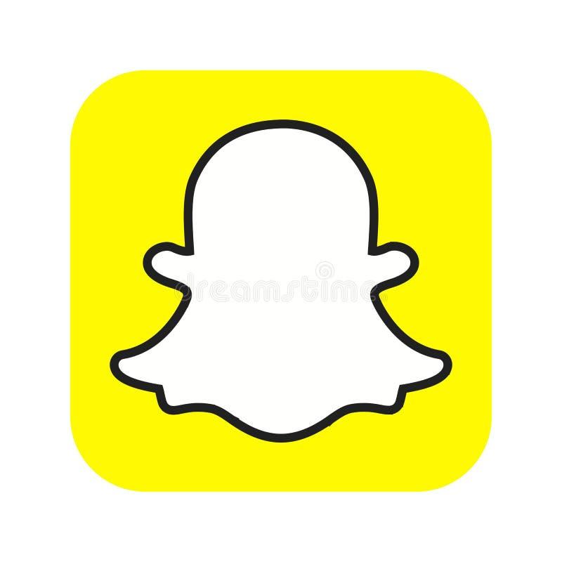 Snapchat stock illustratie